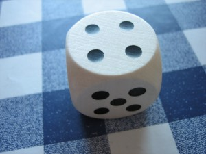 A simple model for uncertainty