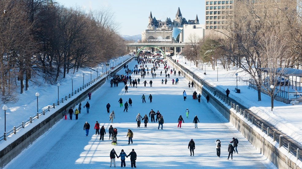 Rideau Canal Skateway « RealClimate