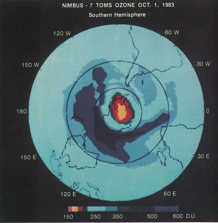 The Oct 1st 1983 ozone hole