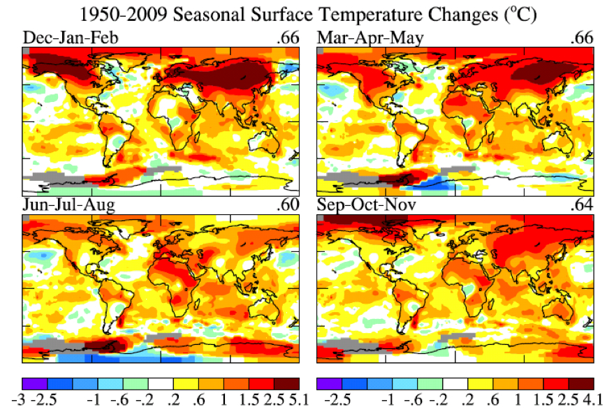 2009 temperatures by Jim Hansen « RealClimate