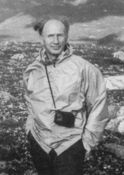 Ed Lorenz hiking